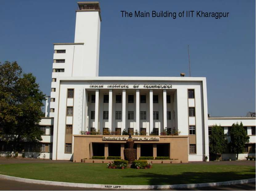 The Main Building of IIT Kharagpur