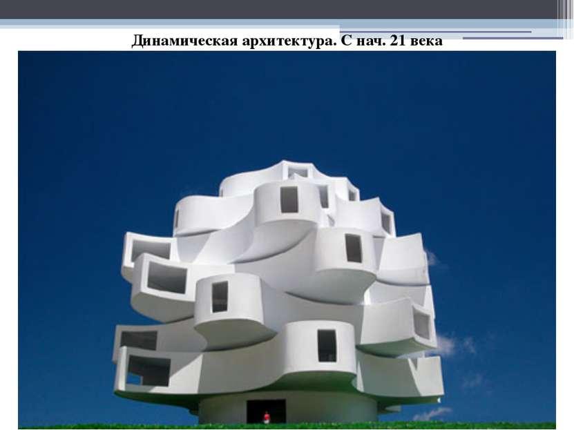 Динамическая архитектура. С нач. 21 века