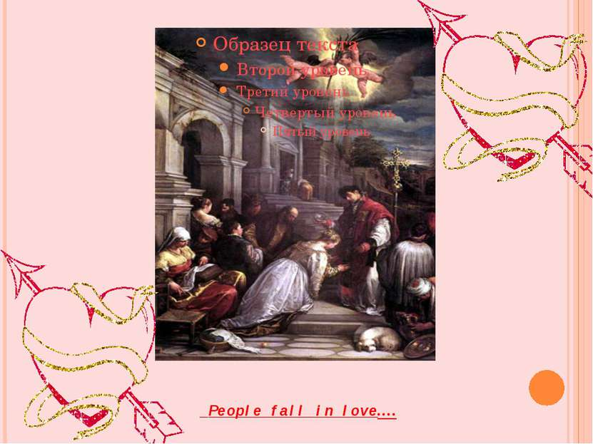 People fall in love….