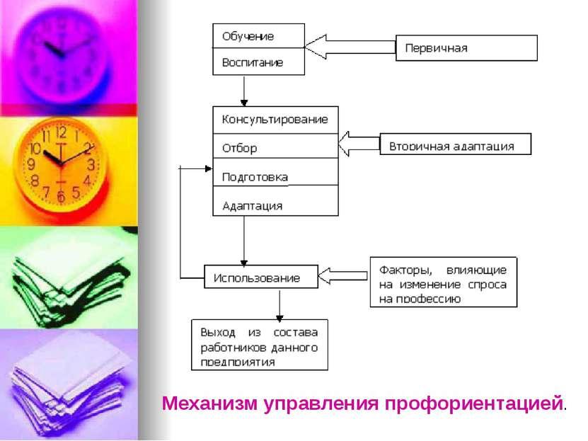 Механизм управления профориентацией.