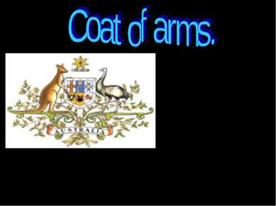 Australia coat of arms – the official emblem of the Australia Government – wa...