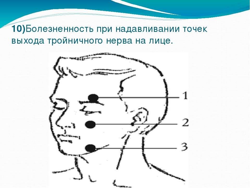 Как в домашних условиях лечить тройничный нерв на лице