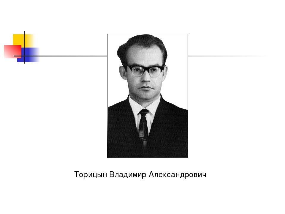 Торицын Владимир Александрович