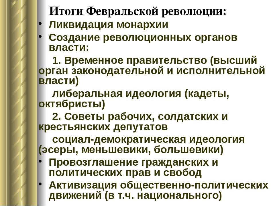 От волнений национальной войны к мертвому штилю петербургского деспотизма