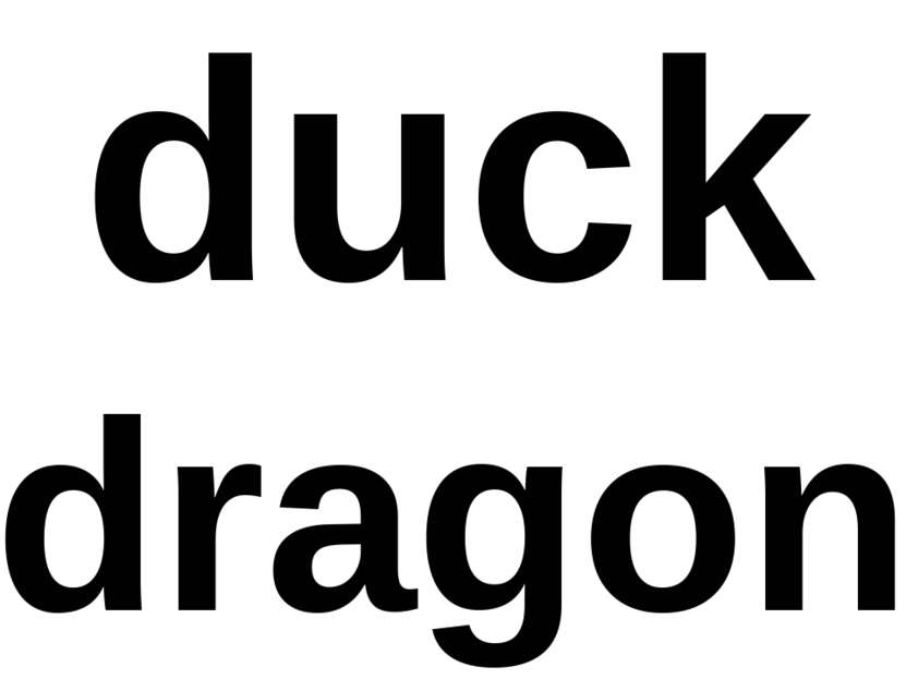 duck dragon