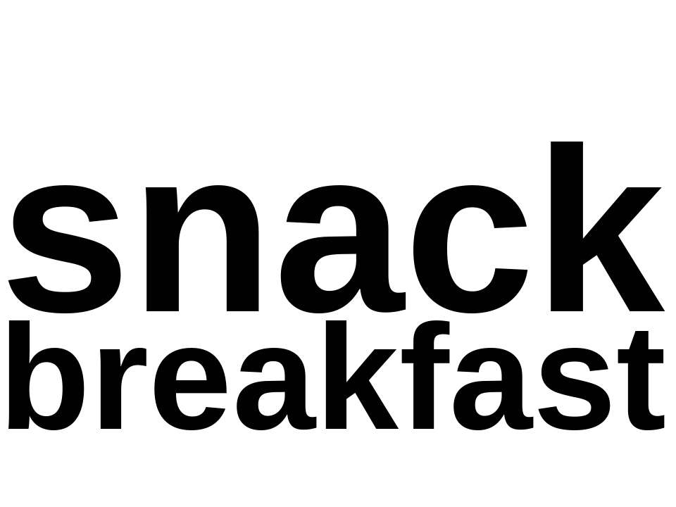snack breakfast