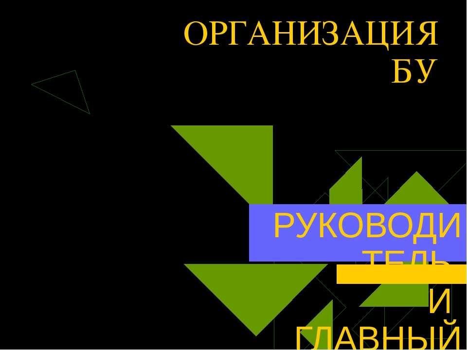Руководитель организации несет ответственность: за организацию бухгалтерского...