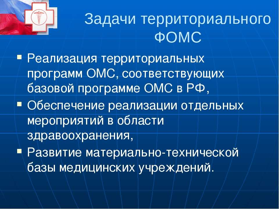 Расходы ФФОМС Выравнивание финансовых условий деятельности ТФОМС, Государстве...