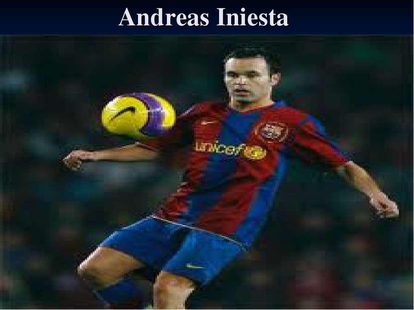 Andreas Iniesta
