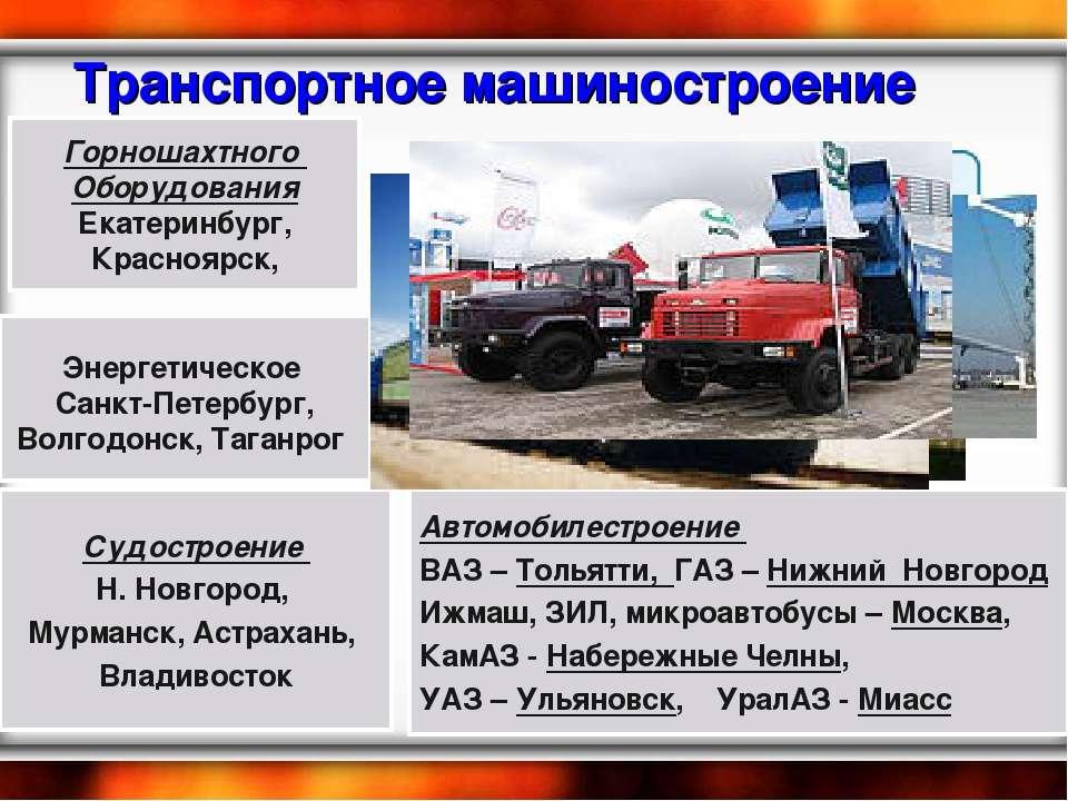 Транспортное машиностроение Горношахтного Оборудования Екатеринбург, Краснояр...