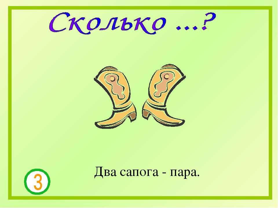 Два сапога - пара.