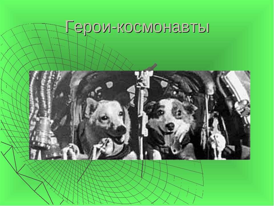 Герои-космонавты