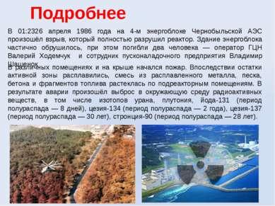 Подробнее В 01:2326 апреля 1986 года на 4-м энергоблоке Чернобыльской АЭС про...