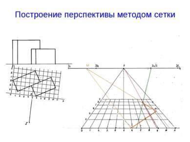 Построение перспективы методом сетки М