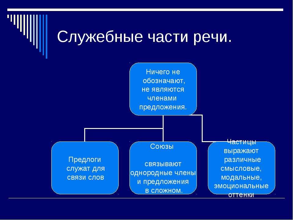 Служебные Части Речи Презентация 7 Класс Вводный Уроки :: droppoigleevgesch