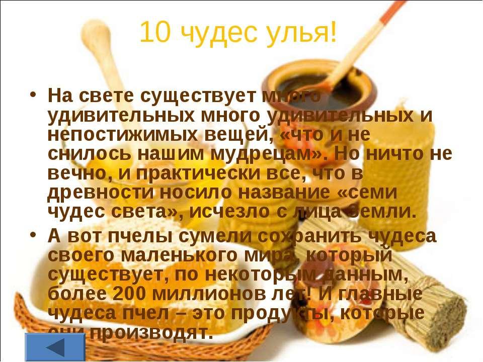 10 чудес улья! На свете существует много удивительных много удивительных и не...