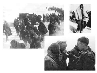 ФЕВРАЛЬ 1943 ГОДА. МАРШ К ВОЛГЕ ЗАВЕРШЕН