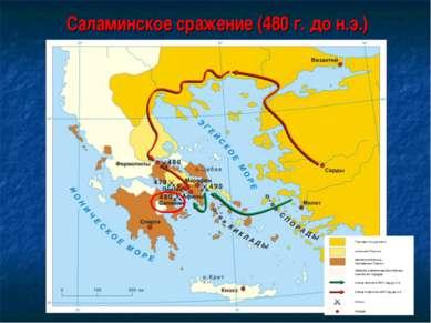 Саламинское сражение (480 г. до н.э.)