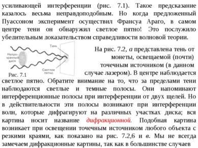 усиливающей интерференции (рис. 7.1). Такое предсказание казалось весьма непр...
