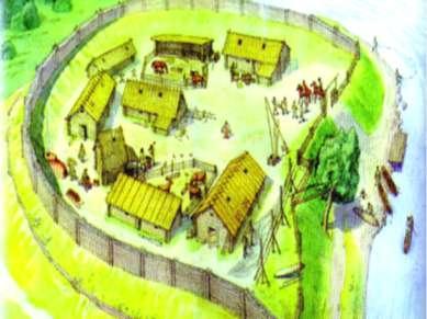 Поселение славян