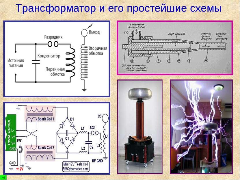 Трансформатор и его простейшие схемы