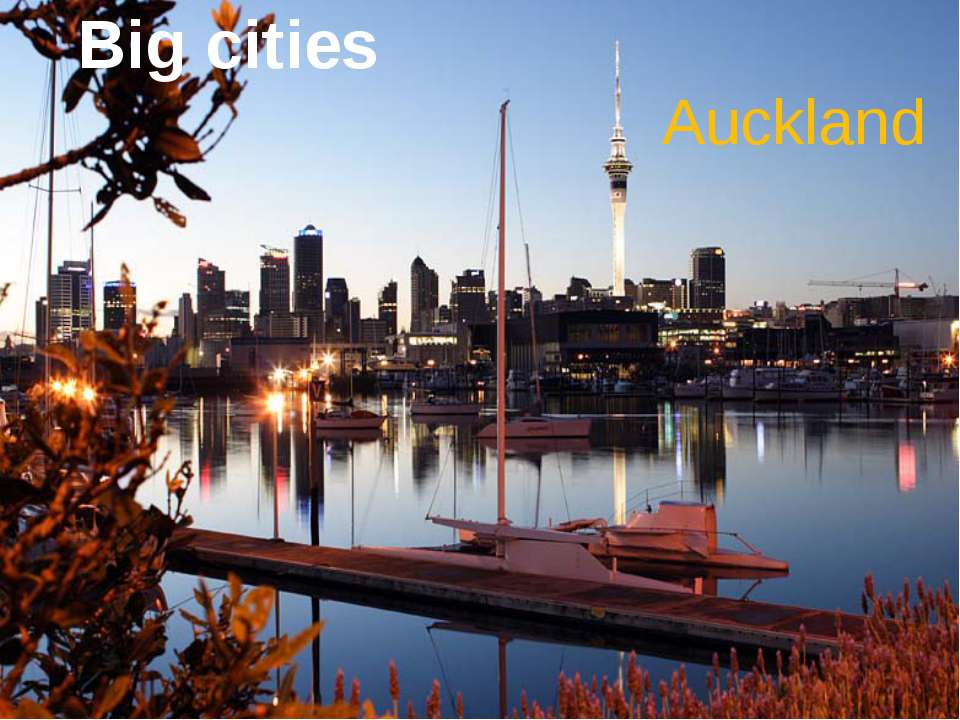 Big cities Auckland