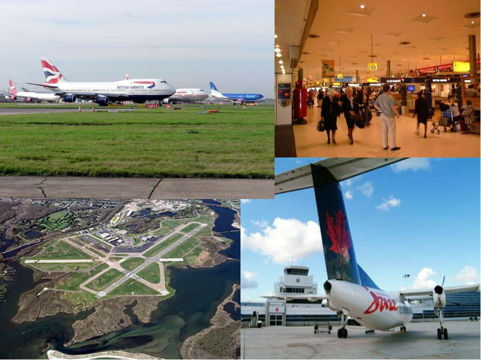 London has 4 international airports: Heathrow, the largest, connected to the ...