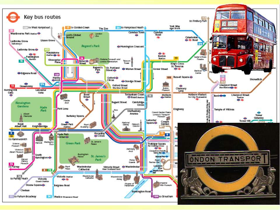 The first London bus started running between Paddington and the city in 1829....