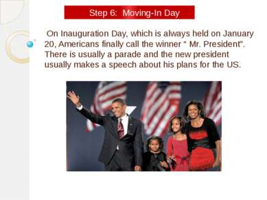 On Inauguration Day, which is always held on January 20, Americans finally ca...