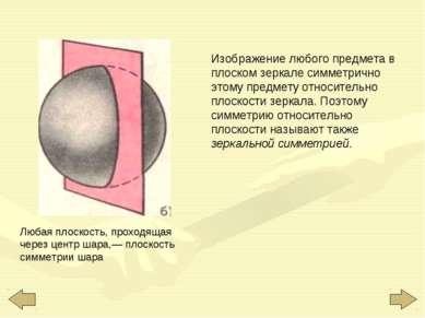 Изображение любого предмета в плоском зеркале симметрично этому предмету отно...
