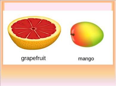 mango grapefruit