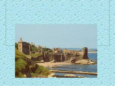 Замки строили на берегу рек и морей