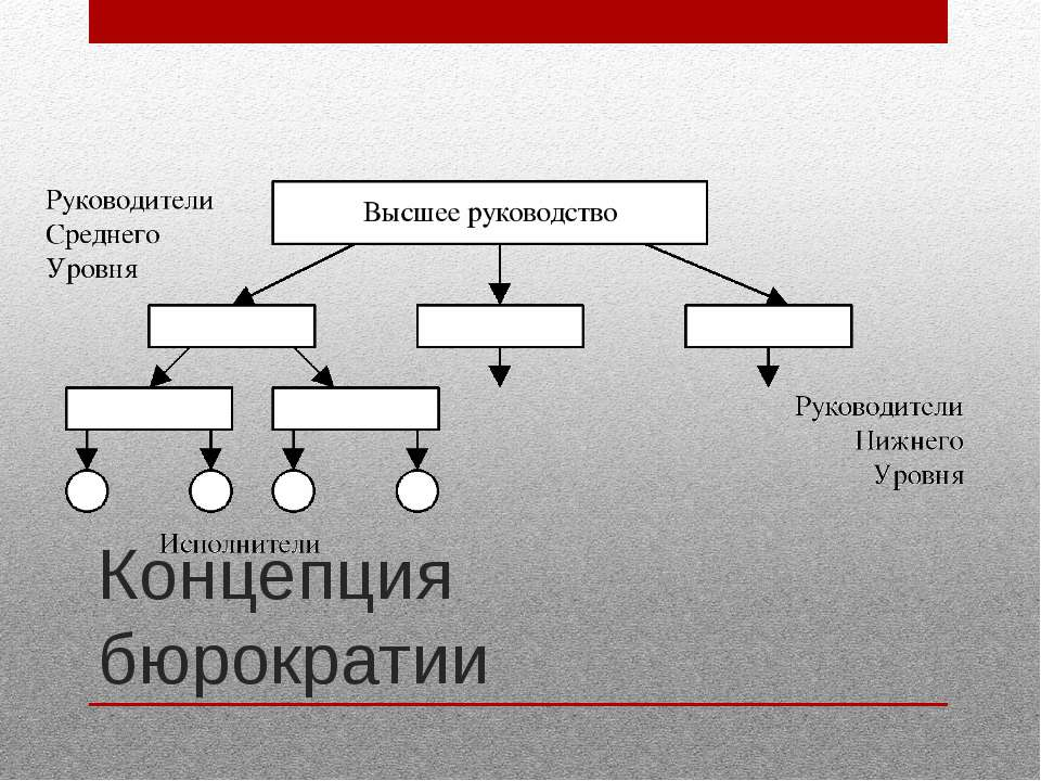Концепция бюрократии