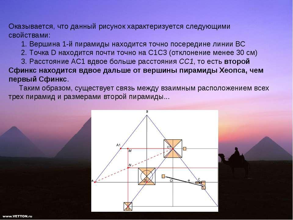 Оказывается, что данный рисунок характеризуется следующими свойствами: 1. Вер...