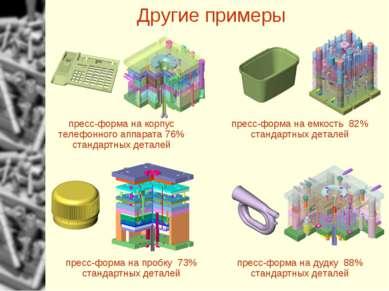 Другие примеры пресс-форма на корпус телефонного аппарата 76% стандартных дет...