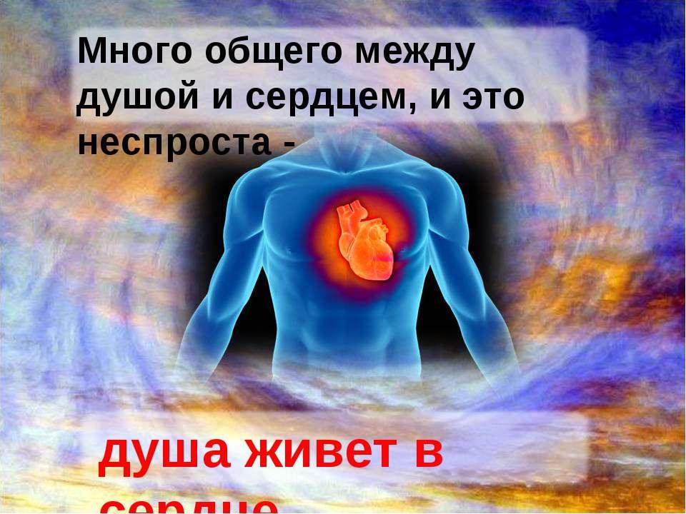 Душа и сердце поздравление