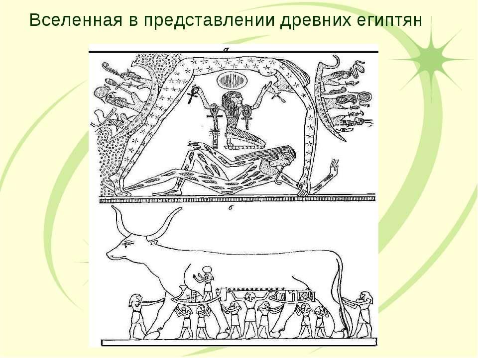 Вселенная в представлении древних египтян