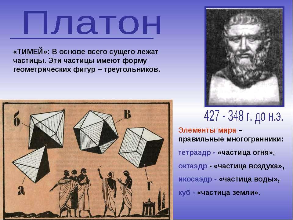 октаэдр - «частица