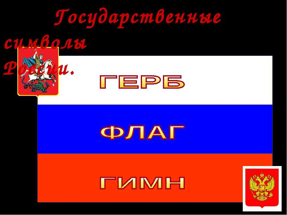 * Фронт.беседа Государственные символы России.