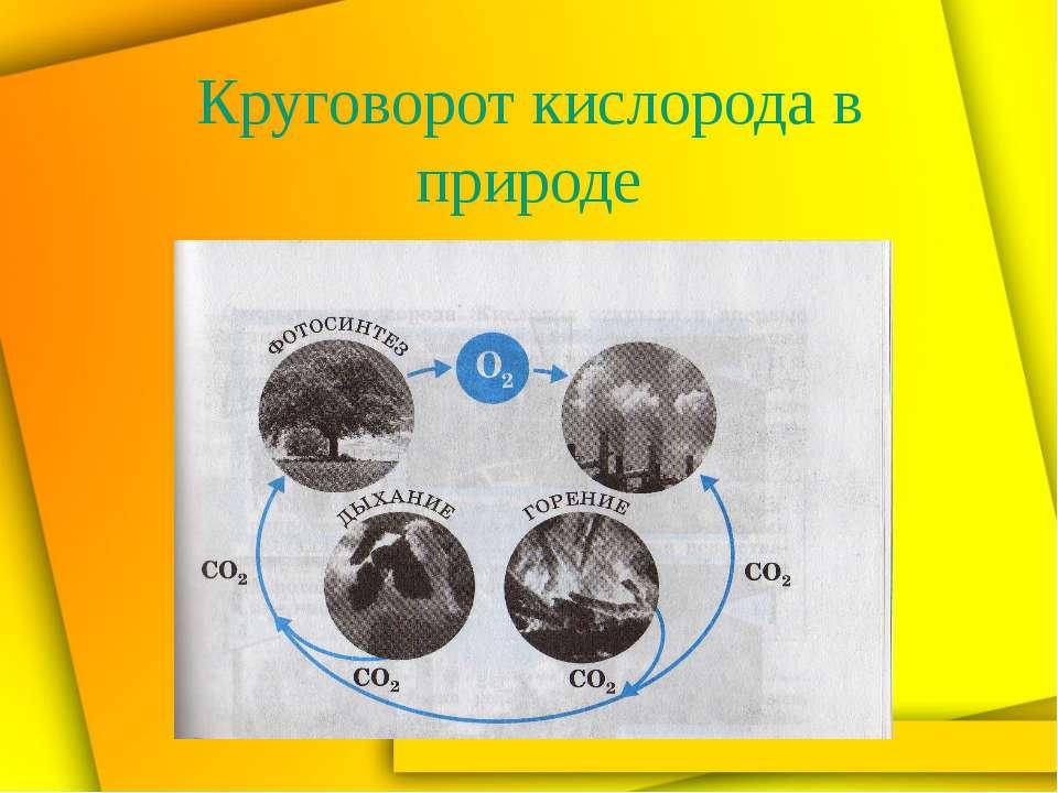 Получение кислорода