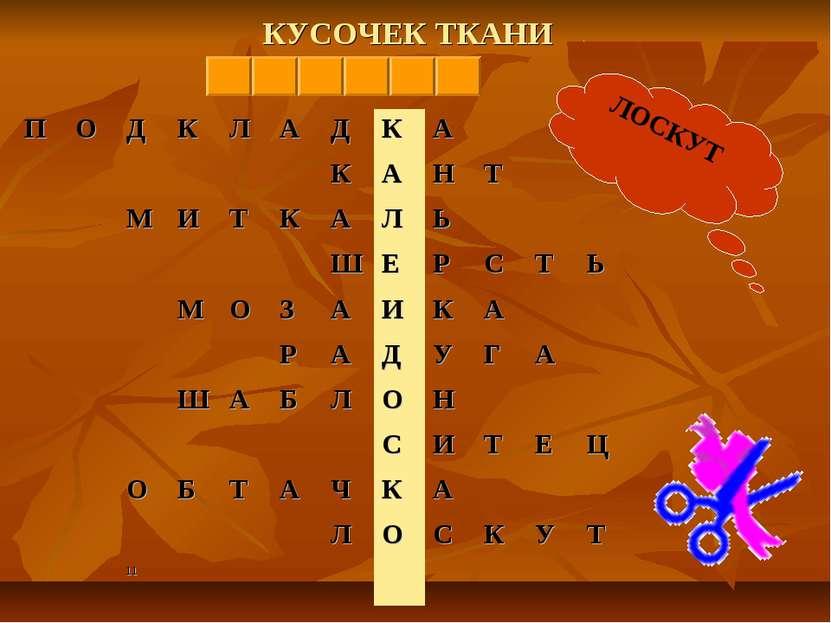 КУСОЧЕК ТКАНИ ЛОСКУТ
