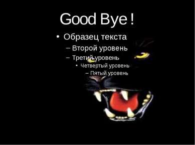 Good Bye !