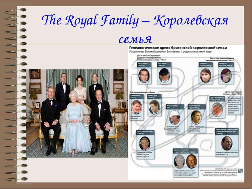 The Royal Family – Королевская семья