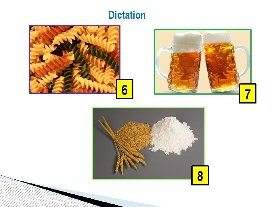 Dictation 6 8 7