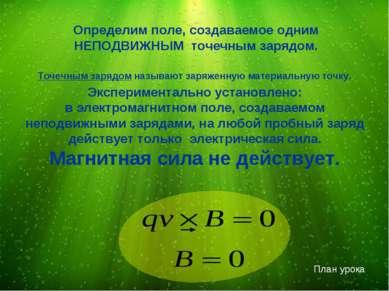 Экспериментально установлено: в электромагнитном поле, создаваемом неподвижны...