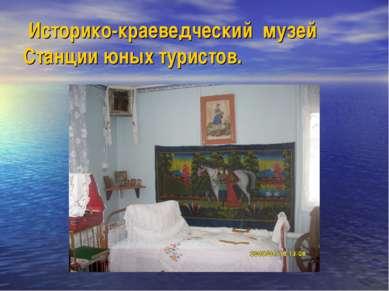 Историко-краеведческий музей Станции юных туристов.