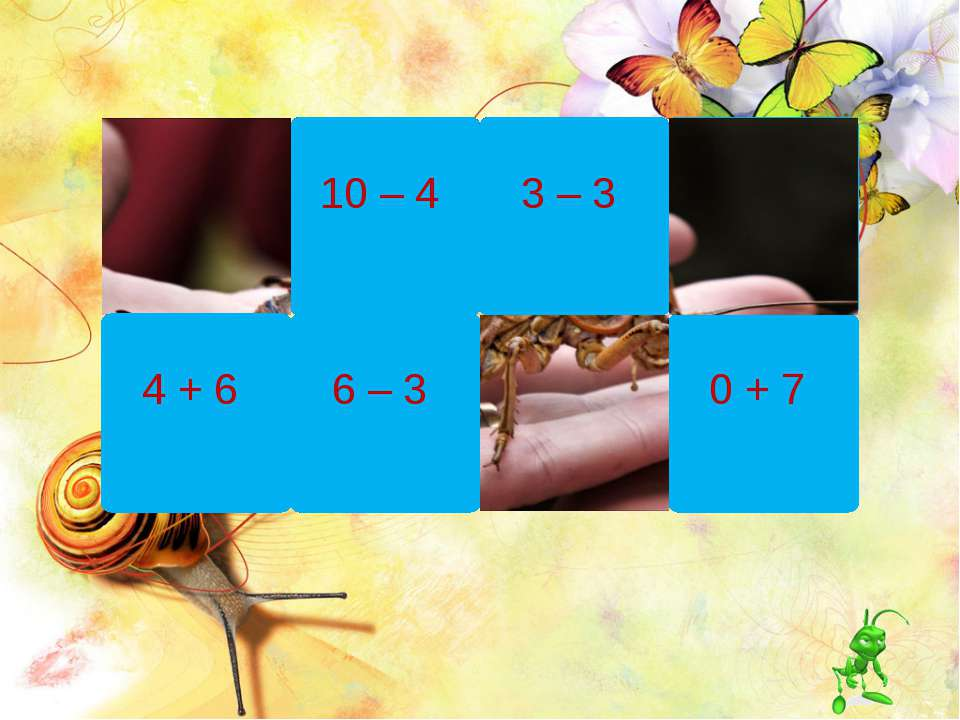 10 – 4 6 – 3 3 – 3 8 – 4 0 + 7 4 + 6