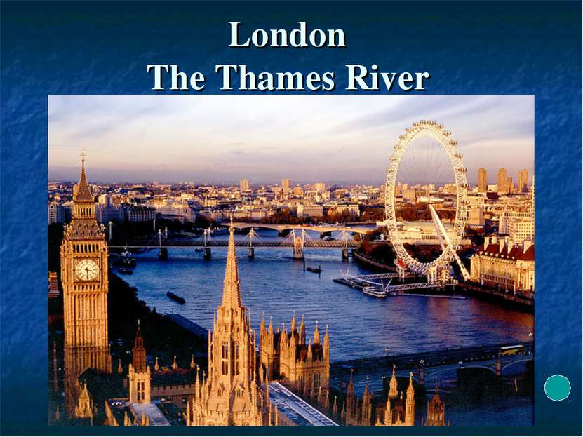 London The Thames River
