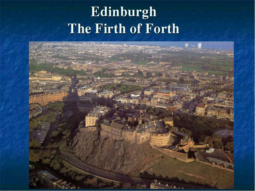 Edinburgh The Firth of Forth