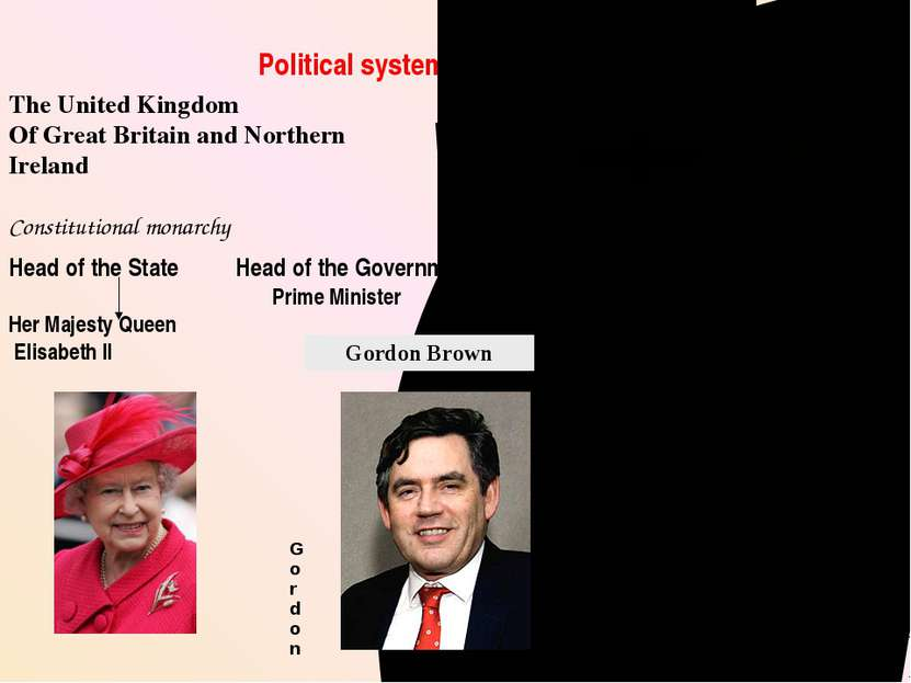 Political system of the United Kingdom The United Kingdom Of Great Britain an...
